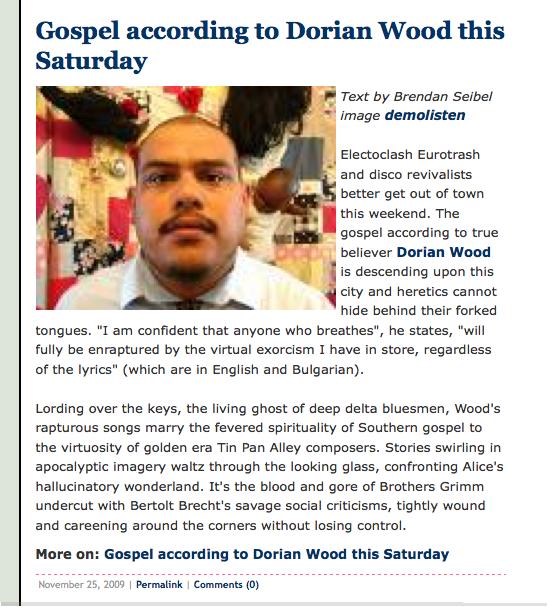 Vingt - Dorian Wood