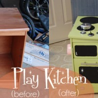 DIY Play Kitchen {Try that Tuesday}