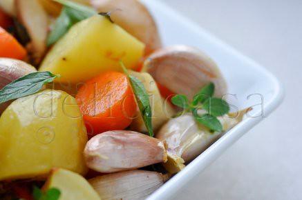 Friptura de miel cu masline si rozmarin & legume cu maioran (8 of 10)