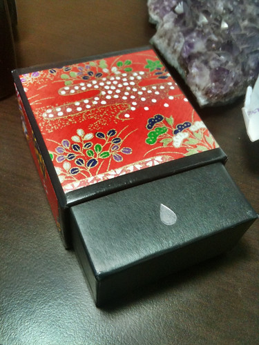 Origami Paper Moo Card Box