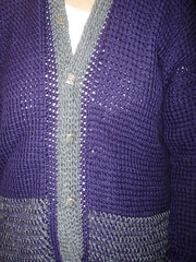 Tunisian Crochet Coat