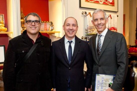George Brazil, Greg Stewart, David Oldroyd