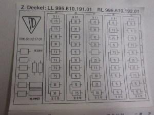 1997 vs 1999 Fuse Assignments (diagrams)  Porsche Babblers