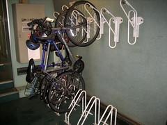 Amtrak Bike Storage