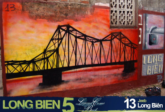 Long Biên 5 Graffiti Battle 11