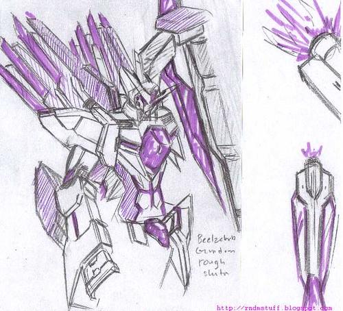 Beelzebub Rough Sketch 1