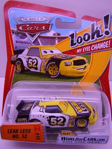 Disney CARS Lenticular Leak Less