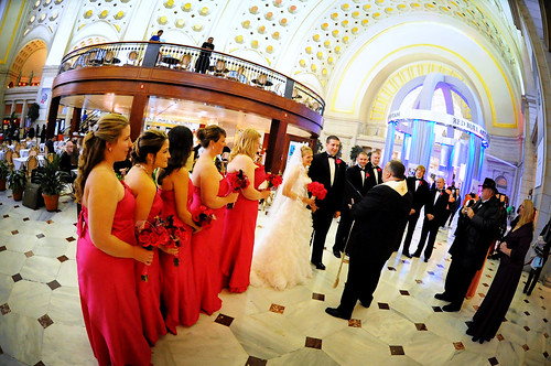 Wedding Ceremony at Union Station