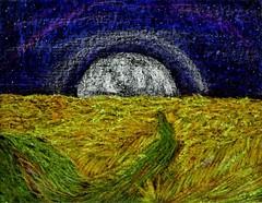 Moonrise Van Gogh