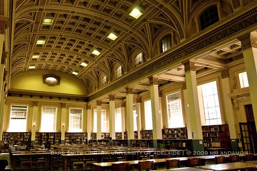 Reading Room, Barr Smith Library