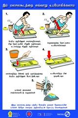 Squatting UDDT (Tamil language)