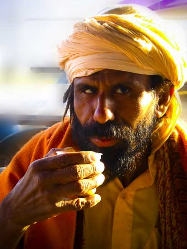 indian sadhu.