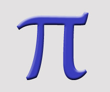 Photo: 'Pi, 3.1415926535... 22/7, 688/219, 208341/66317, ...' - Click to open new tab with this image on flickr (metadata, larger size, LOBB).
