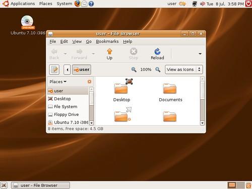 Ubuntu Gutsy Gibbon