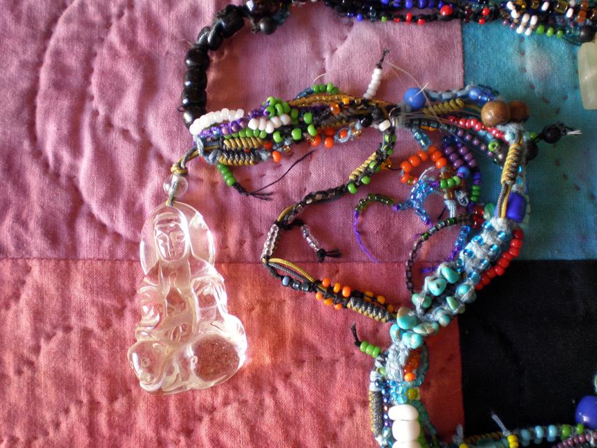monk necklace