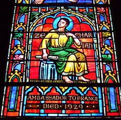 National Cathedral_Zechariah (Herrick window, ...