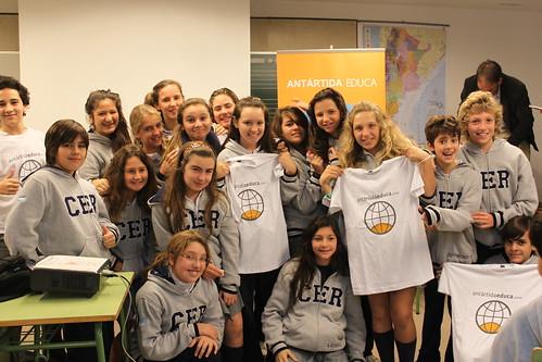 Chicos del Centro Educativo Hispano Argentino