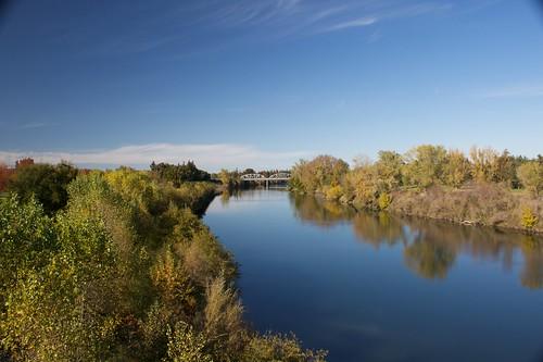 American River in Sacramento