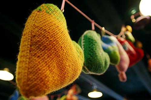 Knitting Hearts for Haiti 11-21-09 1 by stevendepolo