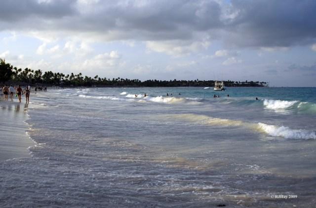 A stretch of beach - Punta Cana, Dominican Republic.