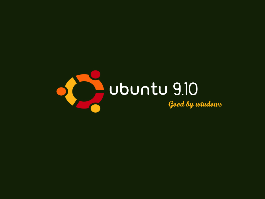 Ubuntu 9.10 - good by windows