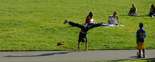Hippy Hill on a sunny day. San Francisco's Indian Summer in Golden Gate Park 2009 1
