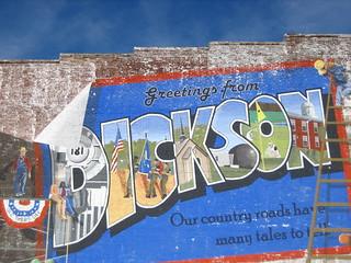 Dickson mural