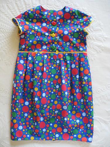 Tulip dress - front
