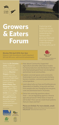 Growers and Eaters' Forum