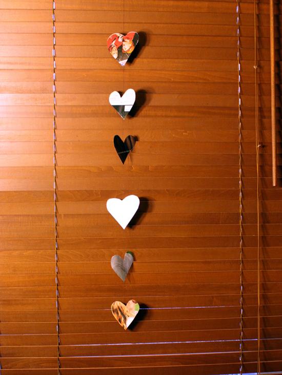 Heart Streamers