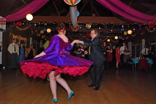 bride/father & groom/mother dance