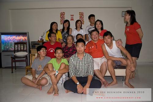 CNY Reunion Dinner 2010 #27