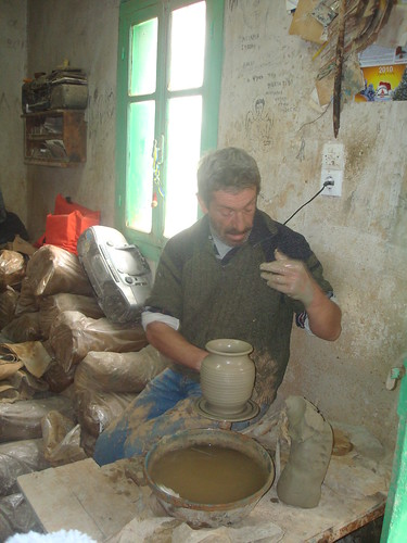 The last potter in Aegina