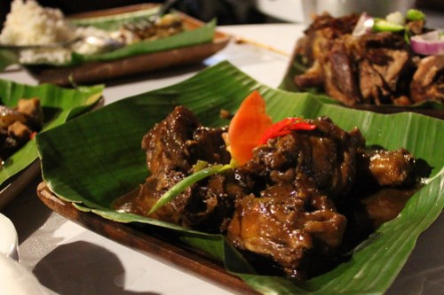 Chicken Adobo at Obsidian Bar and Grill
