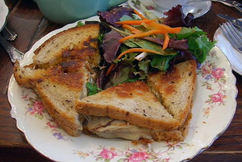 chicken ruben at alice tea cup