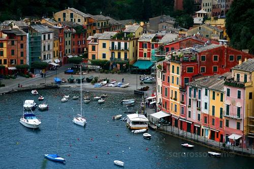 Portofino Bay, Italian Riviera, Italy