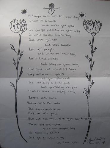 Poème de Thomas Drayton, 1967