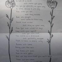 un poeme
