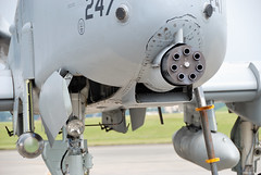 Gatling Gun GAU-8 on A-10
