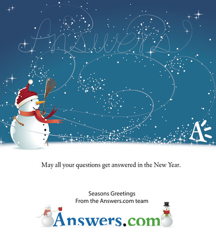 May all your questions get answered in the New Year!