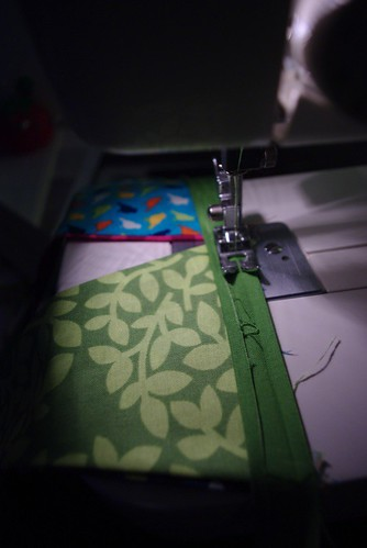 Sewing the Bias Tape