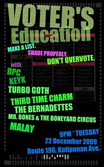 Voter's Education Night at Route 196 (reversed)