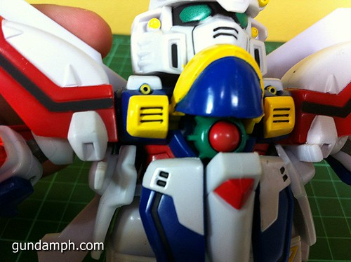 SD Archive God Gundam (24) Out Of Box Review
