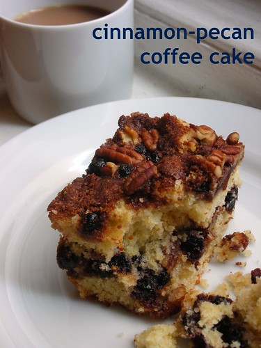 cinnamon-pecan coffee cake