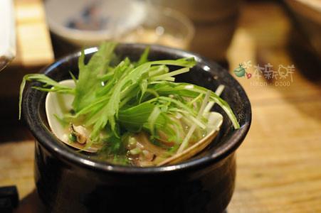 味噌蛤蜊白蘿蔔湯