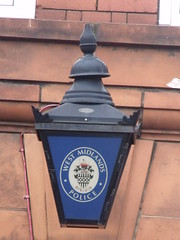 Acocks Green Police Station, Yardley Road - West Midlands Police lantern