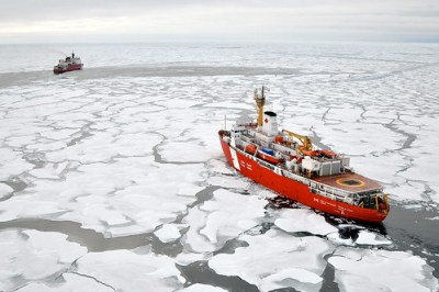 Closing in (Arctic Ocean) - Photo : US Geological Survey