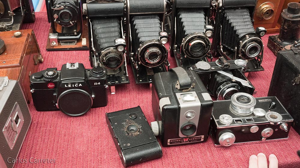 Leica R4 y Argus