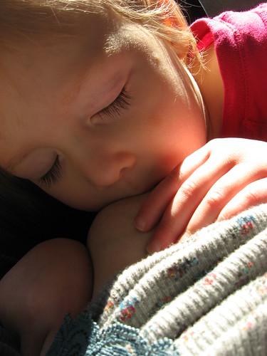 Post nap nursing