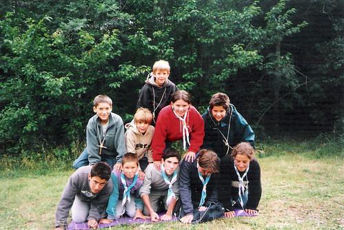 Campaments a Planoles 2001